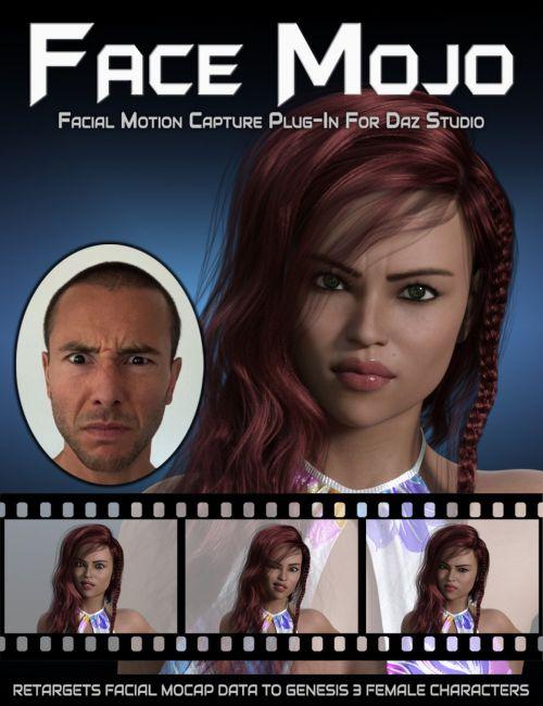 Face Mojo - Facial MoCap Retargeting for Genesis 3 Females