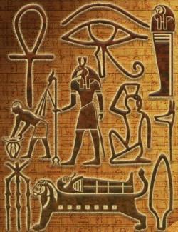 Egyptian Symbols- Ancient Hieroglyphs
