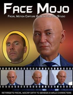 Face Mojo - Facial MoCap Retargeting for Genesis 8 Males