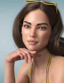 P3D Katherina HD for Genesis 8 Female