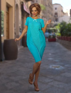 dForce Mia Dress for Genesis 8 Females