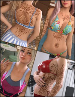 Inked Vol. 27: Just Henna for Genesis 8 Females
