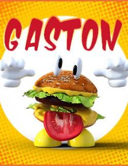 Gaston standalone character for Daz Studio