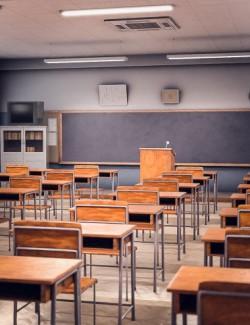 Japanese Neat Classroom