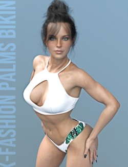 X-Fashion Palms Bikini