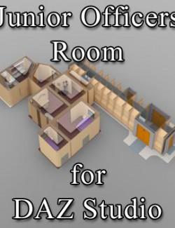 Junior Officers Room for DAZ Studio