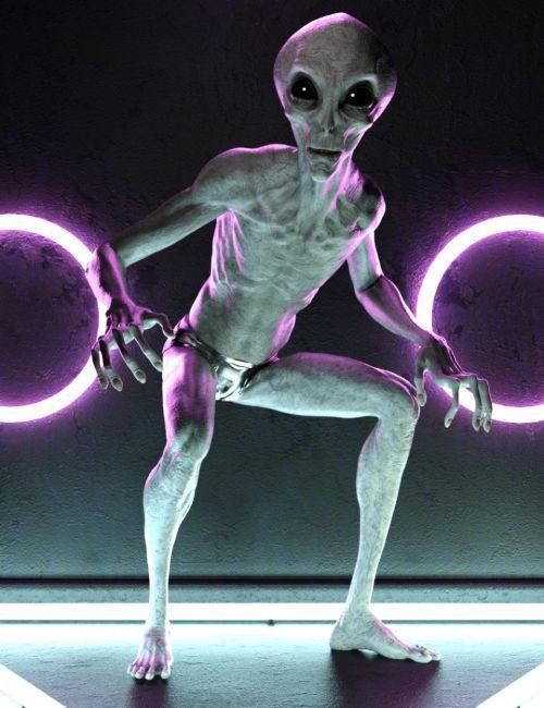 Invader Poses for Greylien