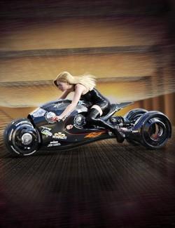 Sci-Fi Shark Motorcycle