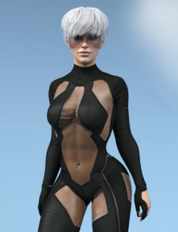 X-Fashion MK Bodysuit for Genesis 8 Females