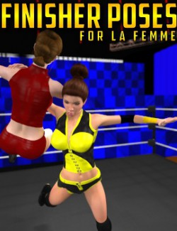 Finisher Poses for La Femme
