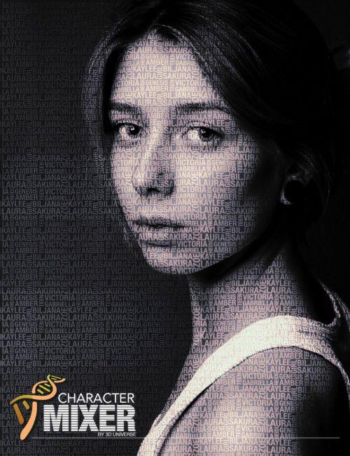 Character Mixer for Genesis Figures