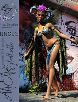 LFS Dforce AlfElfa Outfit & Syladhielle BUNDLE for Genesis 8 Female