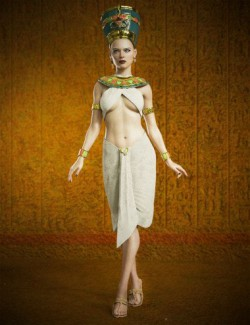 dForce Cleopatra Outfit for Genesis 8 Females