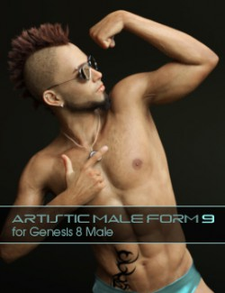 Artistic Male Form 9 for Genesis 8 Male