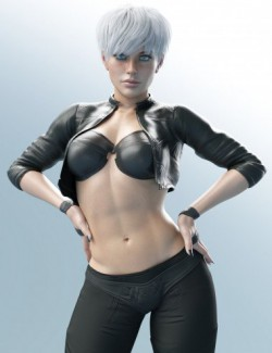 X-Fashion Intrigue Outfit for Genesis 8 Female(s)