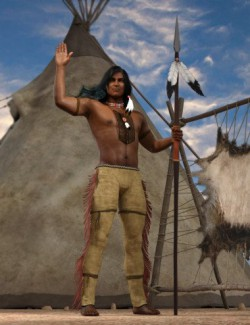 Little Eagle Poses for Genesis 8 Male