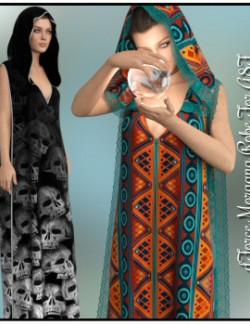 dForce - Morgana Robe for G8F