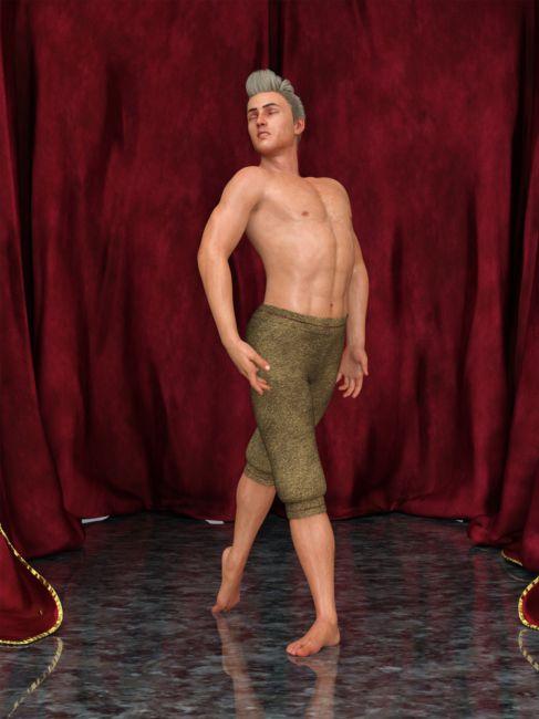 Modern Dance II Poses For Genesis 8 Male