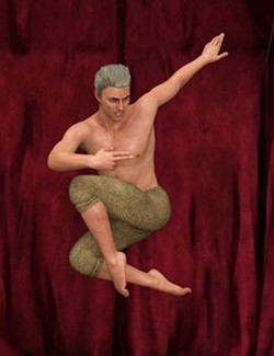 Modern Dance II Poses For Genesis 8 Male