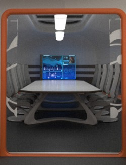 Colony Briefing Room for Poser and DS