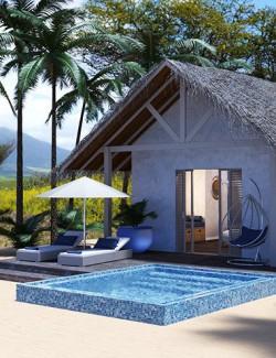 Island Beach Resort- Beach Pool Villa
