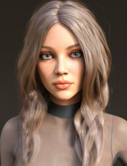 Arlene Hair for Genesis 3 and 8 Females