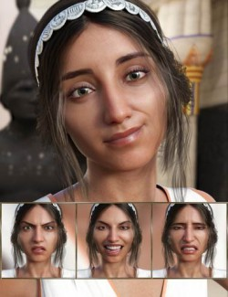 Fortunate - Expressions for Genesis 8 Female and Khemsit 8