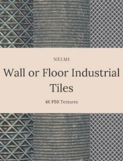 10 Wall or Floor Industrial Tiles
