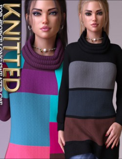 Knitted for dForce Long Sweater G8F