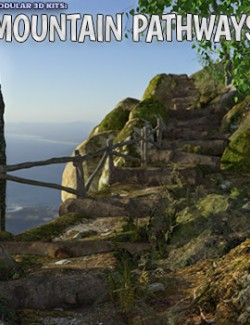 Modular 3D Kits: Mountain Pathways