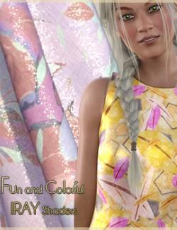 Fun and Colorful IRAY Shaders