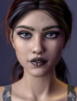 Emilia HD For Genesis 8 Female