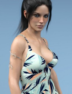 dForce X-Fashion Floral Bohemian Dress