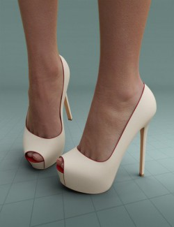 Peeptoe Pumps Vaya for Genesis 3 and 8 Females