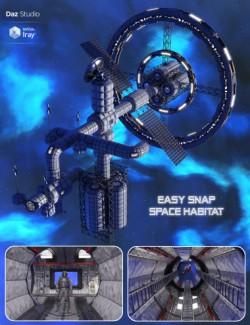 Easy Snap Space Habitat