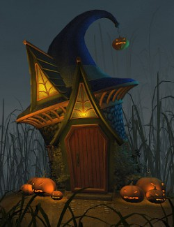 Hat house for Daz Studio