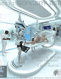 Sci Fi Surgery Bed for DS