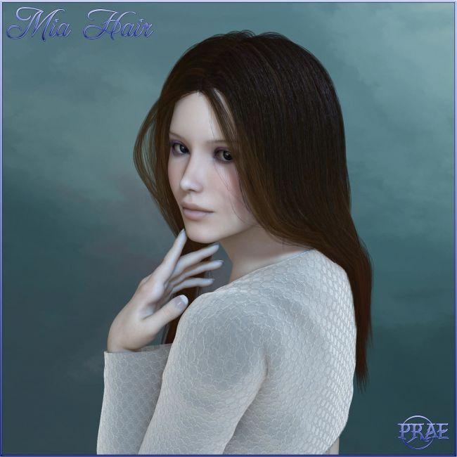 Prae-Mia Hair For Poser