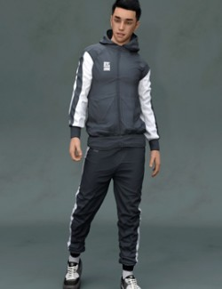 SF-Design Add On for SDE Sweat Pack for Genesis 8 Males