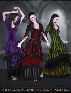 FRQ Dynamics: Vintage Layered Dress 2.0