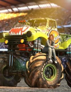 Gila Monster Truck