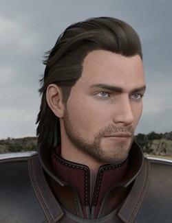 Monster Slayer Hair and Beard for Genesis 8 Males