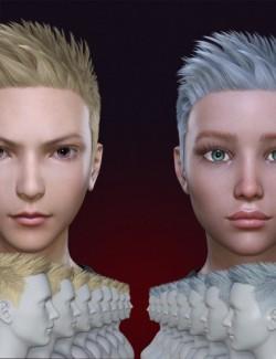 FE Short Hair Vol 2 for Genesis 8