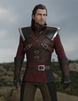 Monster Slayer Outfit for Genesis 8 Male