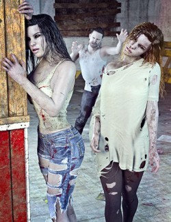 Z Night Terrors Pose Mega Set for Genesis 3 and 8