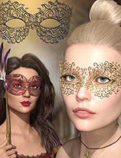 Mask Accessory for Genesis 8 men and women