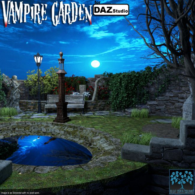 Vampire Garden for Daz Studio