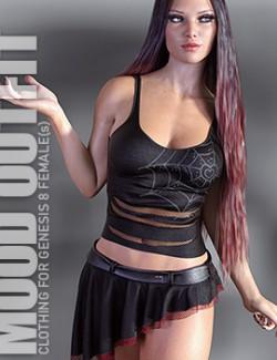 dForce Mood Outfit for Genesis 8 Females