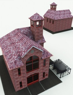 Innsmouth Fire Station for Poser