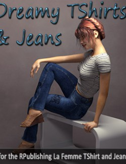 Dreamy TShirts & Jeans for La Femme